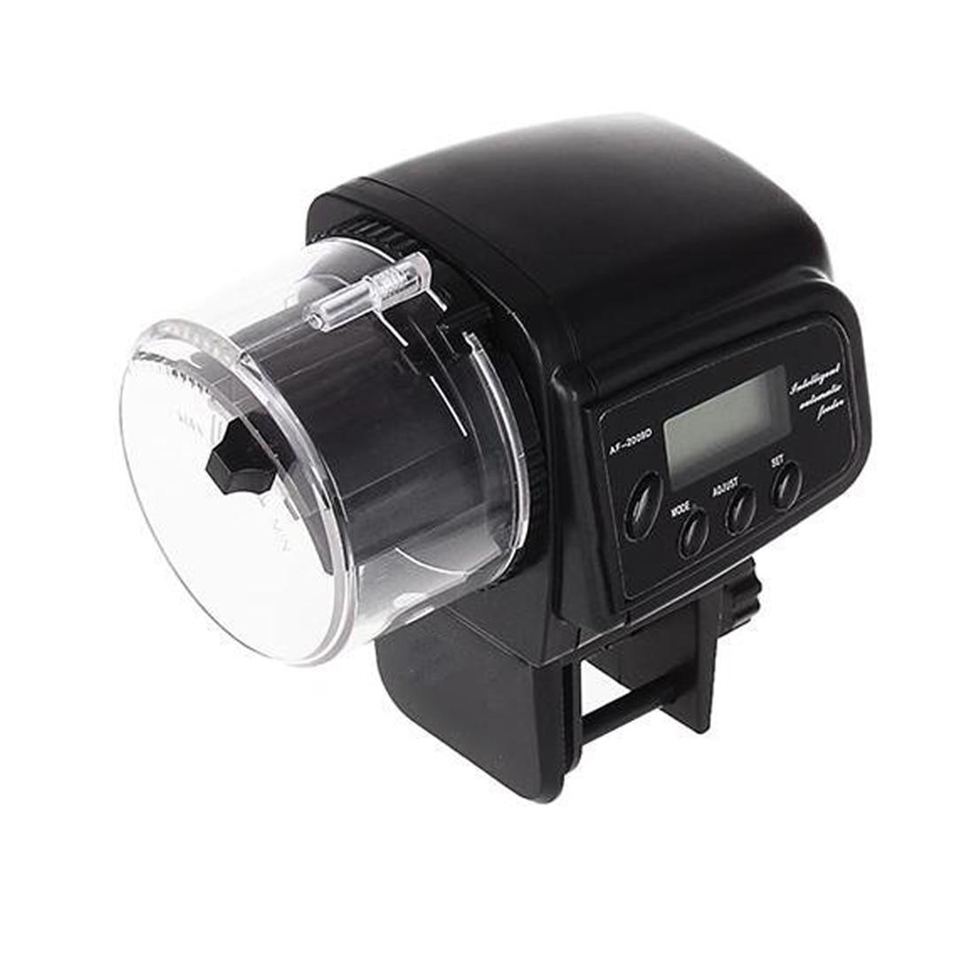 Fish tank feeder - New Aquarium Fish Tank Food Feeder Timer Lcd Display Automatic Manual Feeding Convenient China