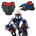 Alta calidad Athemis Soldado 76 Máscara cosplay Alta calidad y mismo que original Juego cosplay máscara luminosa