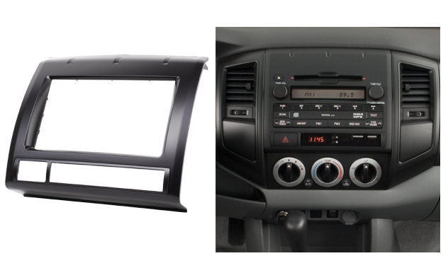 Double Din Fascia For Toyota Tacoma Radio Dvd Stereo Panel