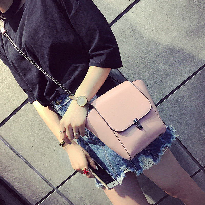 Women Bags Springtime New Style Hit Color Wild Messenger Bag Wings Package Handbag Shoulder Packet Mini Chain Handbags