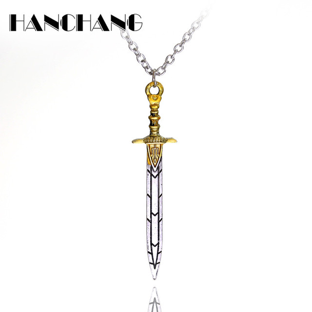 Percy jackson sea of monsters sword pendant necklace suspension percy jackson sea of monsters sword pendant necklace suspension pendants charms long collier women undertale choker mozeypictures Choice Image