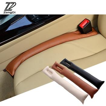 Zd espaço de assento do carro enchimento almofada capa coldre couro para kia rio 3 ceed toyota corolla 2008 avensis C-HR rav4 lexus opel astra h g j