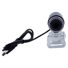 Web Camera,USB Webcam,Web cam Desktop camera With Built-in MIC for Video and Recording on Skype/ FaceTime / YouTube / Hangout(China)
