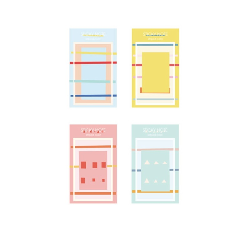 36 pcs/Lot Fresh color sticky note and memo pad Post agenda planner book page marker Stationery Office School supplies A6117