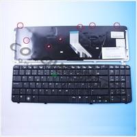 New Black Spanish Laptop Keyboard For HP DV6 1000 DV6 2000 Keyboard SP Black MP 08A96E0