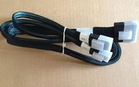 SAS Cable Mini SAS Y Cable kit SFF 8087 Cables 780mm(30.7 inch) 727453 001 754375 001 for DL380e Gen8 Free Shipping