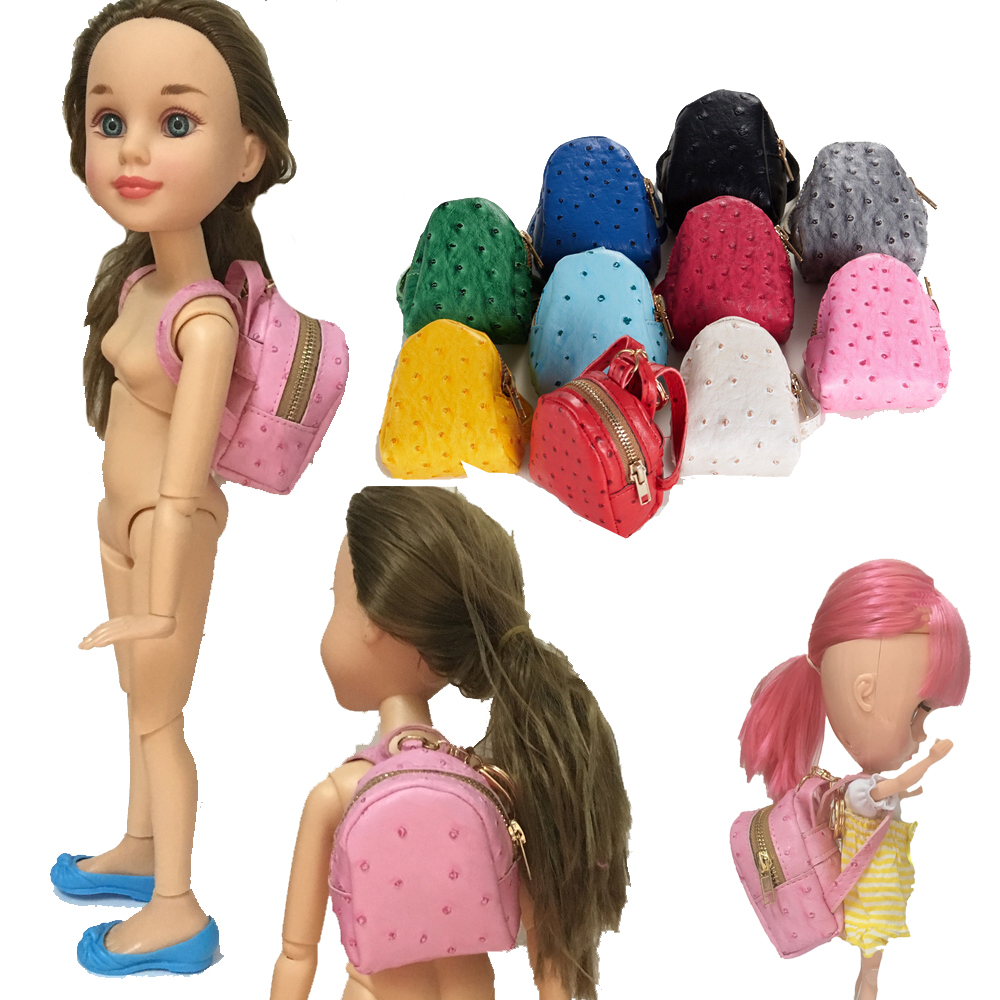 PU Doll Backpack Wear For 1 3 1 4 1 6 16 inch doll fit 45cm