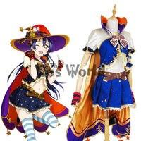Love Live School Idol Project Sonoda Umi Halloween Fancy Dress Uniform Outfit Anime Cosplay Costumes