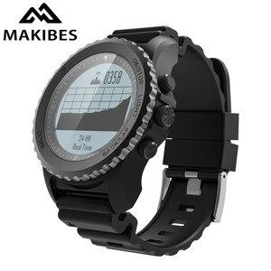 Image 1 - Makibes G07 GPS Mens Multisport Smart Watch Bluetooth IP68 Waterproof Snorkeling Dynamic Heart Rate GPS Tracker Smartwatch
