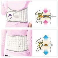 Espinal Aire Tracción Physio Descompresión Volver Cinturón Lumbar del Dolor de espalda Baja Cintura Brace