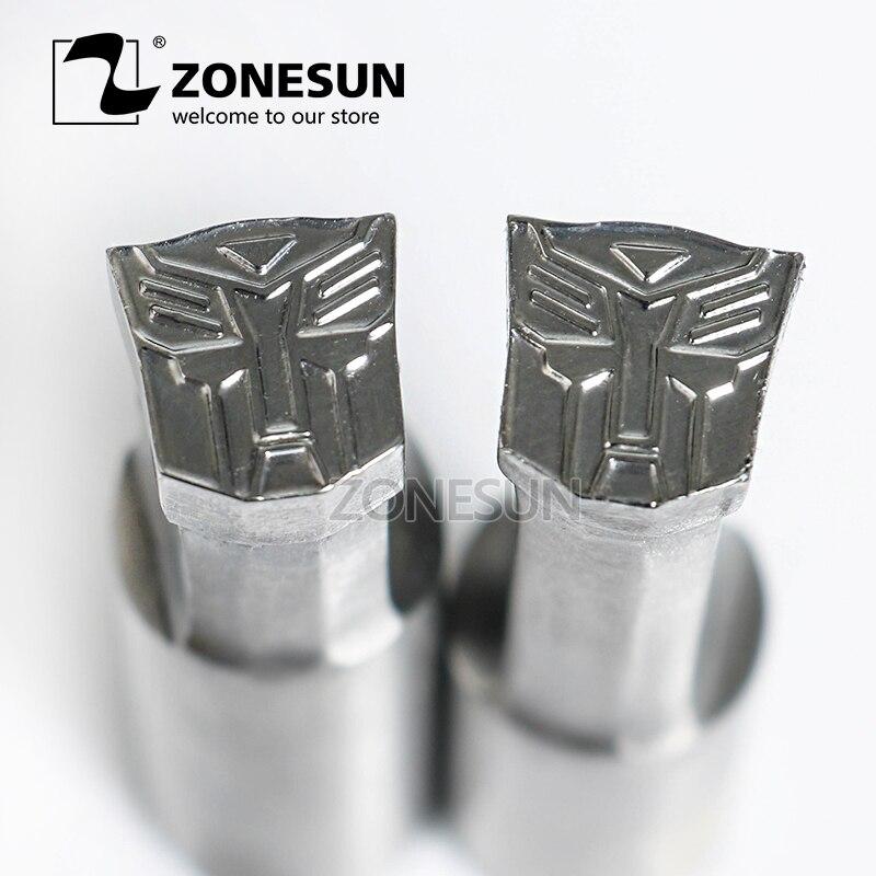 ZONESUN TFormer logo custom candy milk tablet slice die Stamp precision punch die mold sugar tablet press tool TDP 0/1.5/3/5 цены