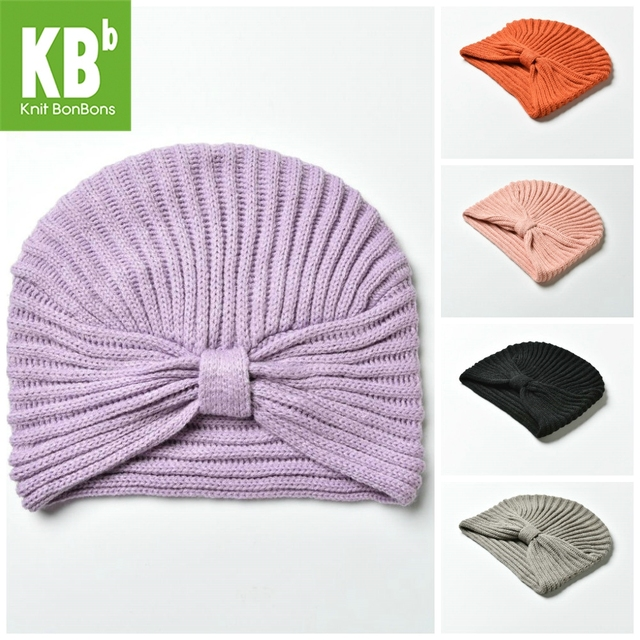 ce4e11928d24fb HOT SALE KBB 5 Colors Xmas Fall Winter Comfy Striated Knit Designer Yarn  Knit Cute Women Ladies Delicate Winter Hat Beanie