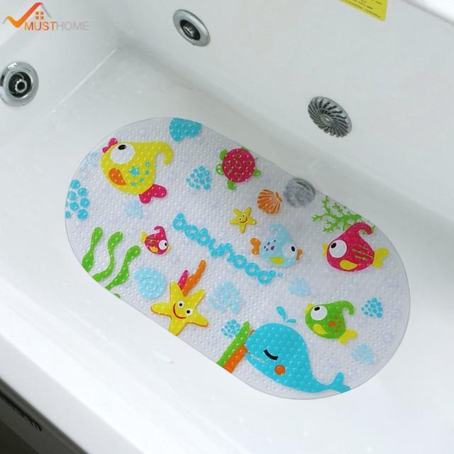39 cm x 69 cm Antiscivolo Vasca da bagno Mat Bambini Vasca o ...