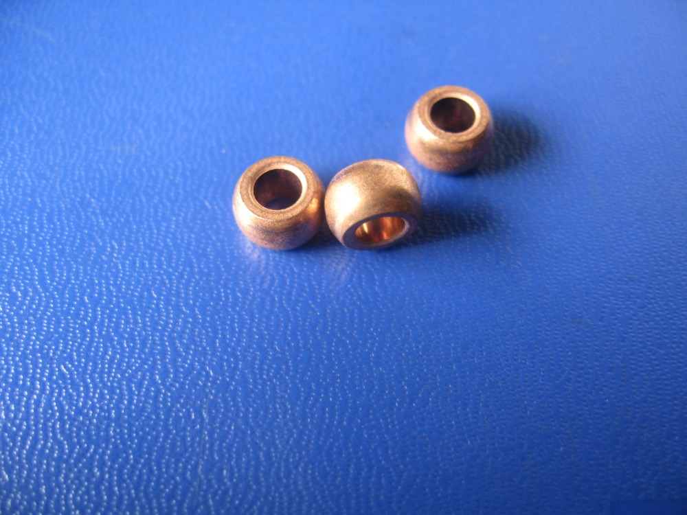 цены  4*8*5mm iron Copper base powder metallurgical parts Powder Metallurgy oil bushing  porous bearing  Sintered copper sleeve