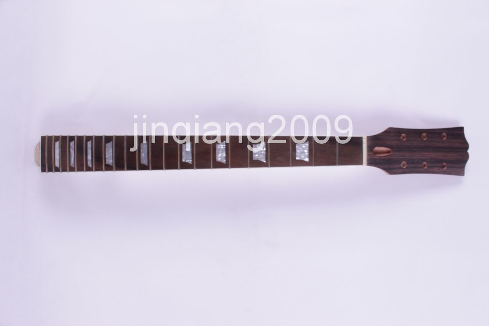 1 new Bonding Unfinished electric guitar neck Mahogany & Rosewood FINGERBOARD 9 # high quality custom shop lp jazz hollow body electric guitar vibrato system rosewood fingerboard mahogany body guitar