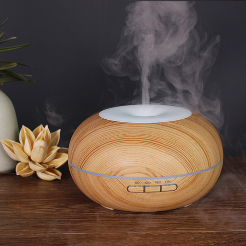 300Ml Air Humidifier Ultrasonic Aroma Essential Oil Diffuser With 7 Colors LED Lamp Electric Aromatherapy Difusor De Aroma