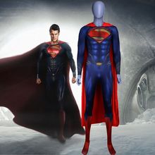 Man of Steel 2 Batman Costume 3D Original Movie Superhero SuperMan Fullbody Zentai Suit