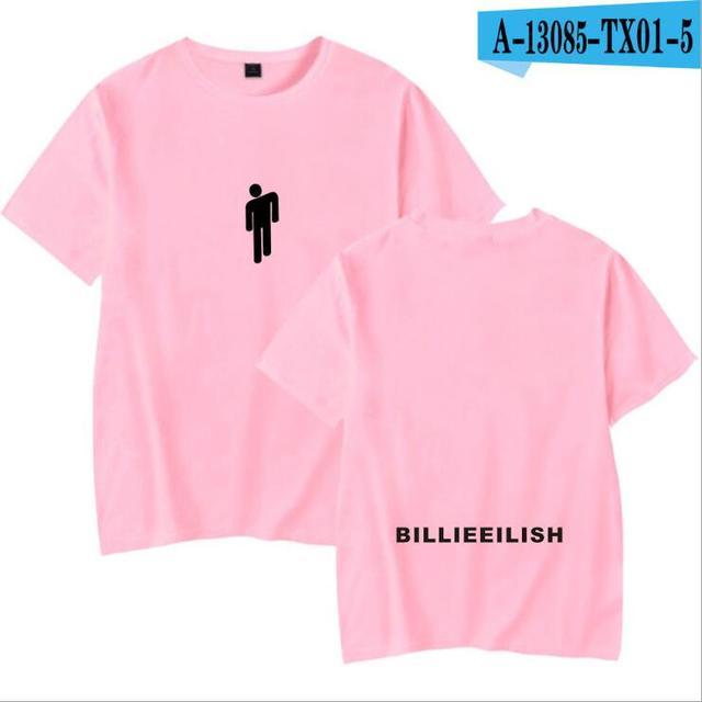 Hip Hop Fashion Brand Clothing KPOP Billie Eilish T Shirt Women/Men 100% Cotton Short Sleeve Funny Tshirt Male/Female Tee Shirt 1