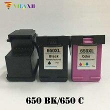 For HP 650 Ink Cartridge for xl Deskjet 1015 1515 2515 2545 2645 3515 4645 Printer