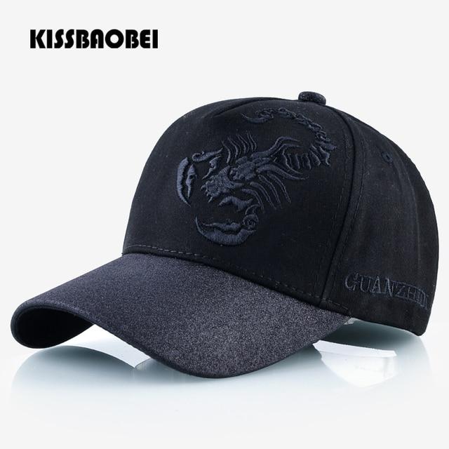 48453ea50ad5 € 5.43 40% de DESCUENTO Scorpions bordado gorra de béisbol de Golf hombres  moda Snapback Gorras mujeres Casual sombreros de sol huesos ajustables ...