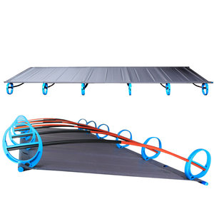 Image 2 - New BRS 1.6kg Ultralight Aluminium alloy Folding Bed Portable Bed Outdoor Camping Bed