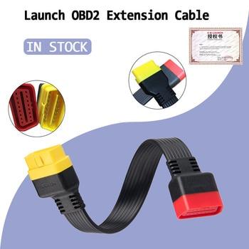 Cable de extensión OBD2 para X431 V/V + Easydiag 3,0 Pro3 16pin conector de cable de diagnóstico