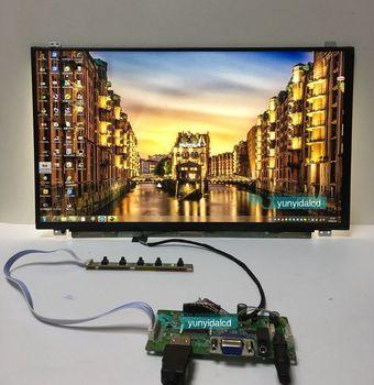 17.3 inch 1920*1080 IPS Screen Display HDMI+VGA Driver Board LCD Panel Module Monitor Laptop PC Raspberry Pi 3 Car недорого