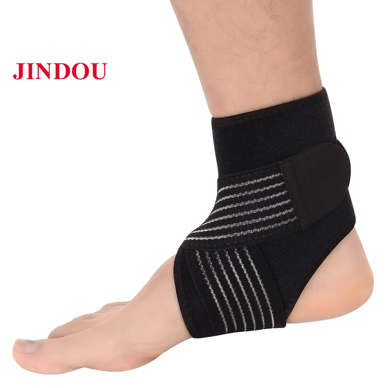 Ankle Support Ankle Support Adjustable Sports Compression Bandage Brace Strap Fitness Basketball Football Foot Guard Protector Male Female 100% Original