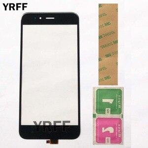 Image 1 - Tela sensível ao toque para xiaomi, painel de vidro frontal com sensor digitalizador, peças a1, mi a1 mi 5x 5x 5x
