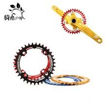 New 34T MTB Crankset Chainwheel Chainring Aluminum Alloy BCD 104 Repair Bicycle Parts Bielas Bicicleta Gear Pedivela