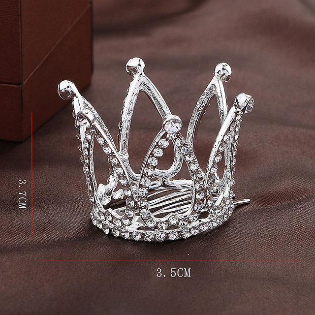 [Wamami] C # princesse couronne pinces à cheveux bijoux SD DZ DOD MSD BJD Dollfie