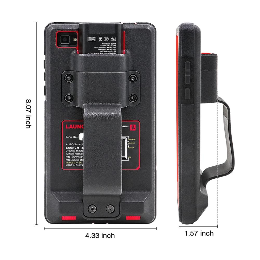 Image 4 - LAUNCH X431 Pro Mini Full Systems Auto Diagnostic tool WiFi/Bluetooth X 431 Pro mini OBD2 Car Scanner 2 years free update X431 VEngine Analyzer   -