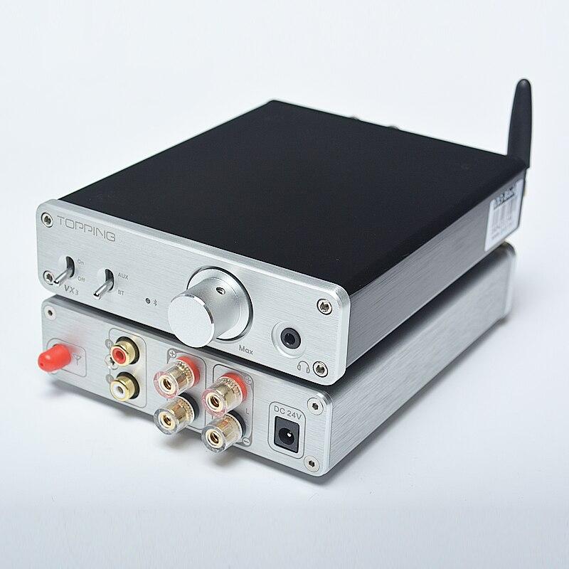NEW 2016 TOPPING VX3 Class D TPA3116D2 Digital Power Amplifier Bluetooth 4.0 Audio Headphone AMP  2*35W
