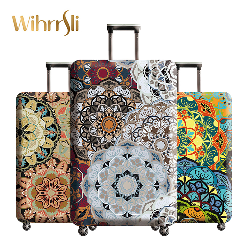 Suitcase-Cover Luggage-Case Organizers Travel-Accessories Packaging Protective Trip Elasticity