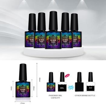Full Manicure Set 24W Lamp For Nail Gel Polish Kit 10 Pc Nail Polish Complete Manicure Tools Gel Varnishes Set For Nail Art Kits 5