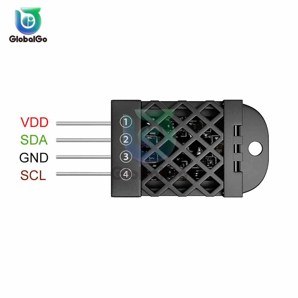 Digitale di Umidità di Temperatura Del Modulo Sensore Per Arduino DHT12 DHT11 AM2302 DHT22 SHT20 di Alta Precisione Temp Umidità di temperatura di Misura