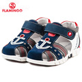 FLAMINGO famous brand 2016 New Arrival Spring & Summer Kids Fashion High Quality sandals for boys 61-XS167