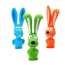 Squeak Toys Dog rabbit Latex Chew Toy Animal Pet Z