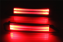 Flashing Rear Bumber Tail Light with Brake Lights For Honda CRV in LED DRL