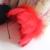 Chapéus Do Casamento de luxo Três Cores Branco/Vermelho/Preto Pena Acessórios testa Acessórios de Cabelo Mulheres Formal Evento Especial Z808