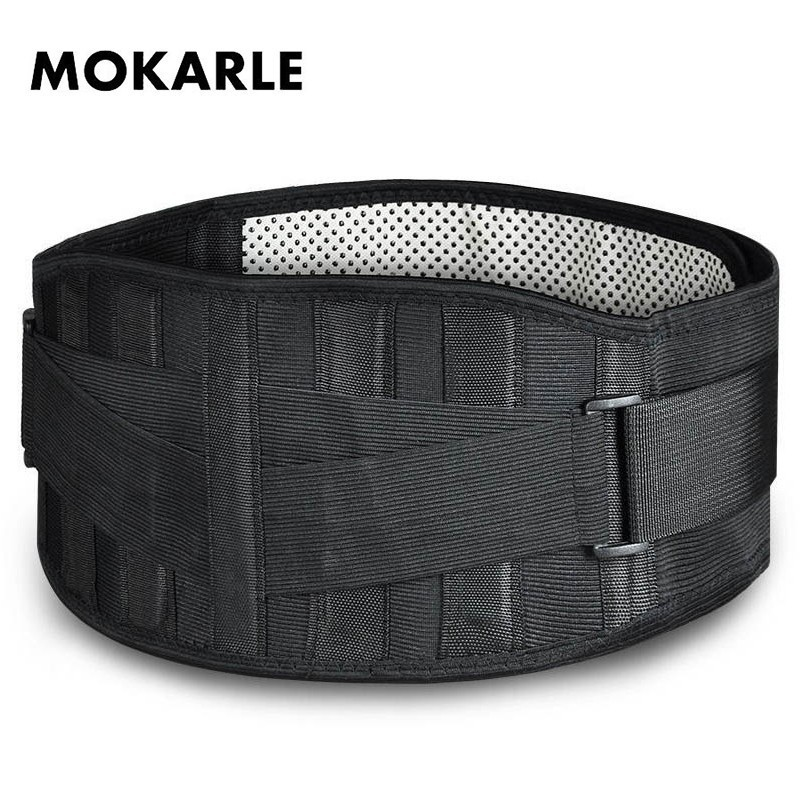 Tourmaline Belt Waist Brace Support Self Heating Magnetic Therapy Lumbar Waist Posture Corrector Bandage Belt Lower Back Support free shipping men women tourmaline self heating magnetic therapy vest waistcoat back protection back support