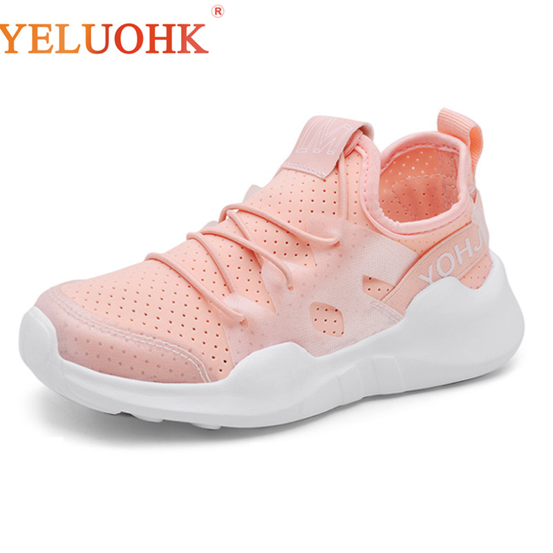 2018 Children Causal Shoes Kids Sneakers Fashion Boys Girls Shoes Pink Grey Black