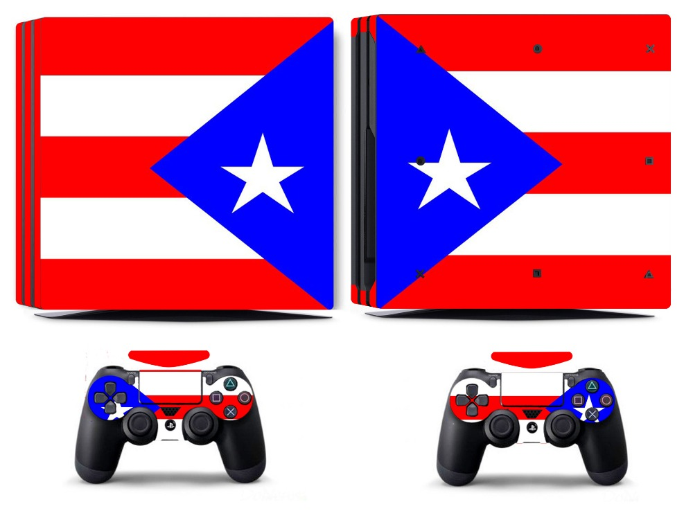 Video Game Accessories Flag 266 Vinyl Decal Cover Skin Sticker For Xbox360 Slim And 2 Controller Skins