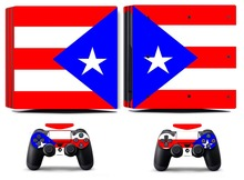 Flag 266 PS4 Pro Skin Sticker Vinyl Decal