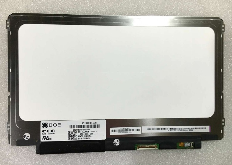 ФОТО Free Shipping NT116WHM-A20 LCD LED Screen with Touch Screen for DELL+ Touch Screen Digitizer