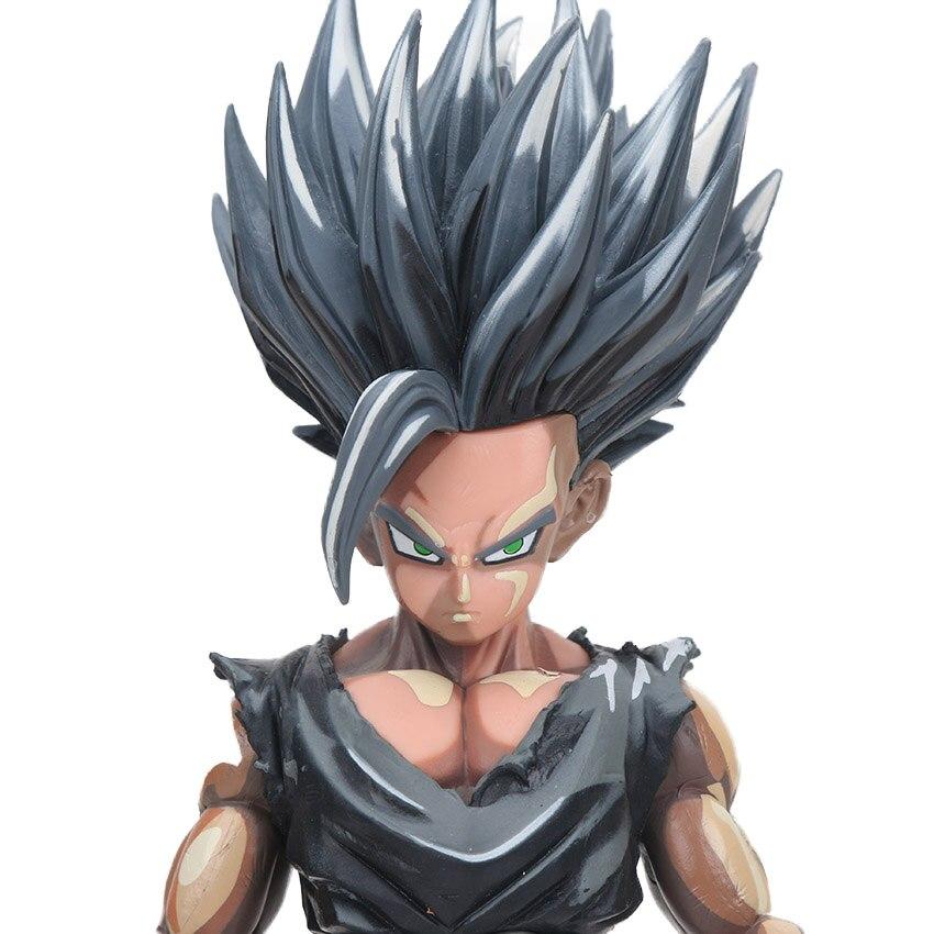 Manga Dragon Ball Z Vegeta Goku Gohan Broly Trunks Action Figures 34cm 16