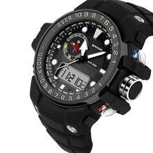 Moda LED Digital Reloj Deportivo Militar Relojes 2016G Estilo SANDA S-shock Hombres Reloj Electrónico A Prueba de agua relogio masculino
