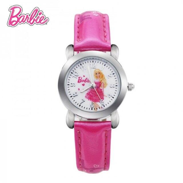 100% Подлинная Барби Принцесса Женщины Часы 2017 Для Девочки Студент Часы Подарок Relogio Masculino Мода Марка Цифровые Кварцевые Часы