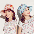 New Brand Kenmont Spring Summer Kids Girl Bucket Hat Outdoor Caps for Children Quick-dry Anti-UV Foldable 6-9Y Blue Pink 4896