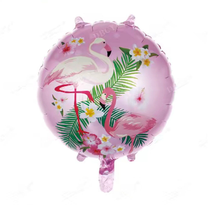 MEIDDING-1pcs Фламинго Алюминий шар для детей и взрослых День рождения шары надувные шар пляж вечерние украшения бассейн Вечерние